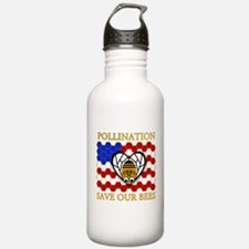 PolliNATION Save our Bees Water Bottle
