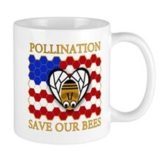 PolliNATION Save our Bees Mug