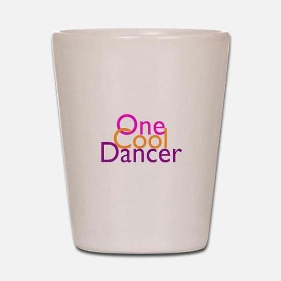 One Cool Dancer Shot Glass