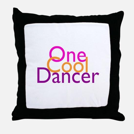 One Cool Dancer Throw Pillow