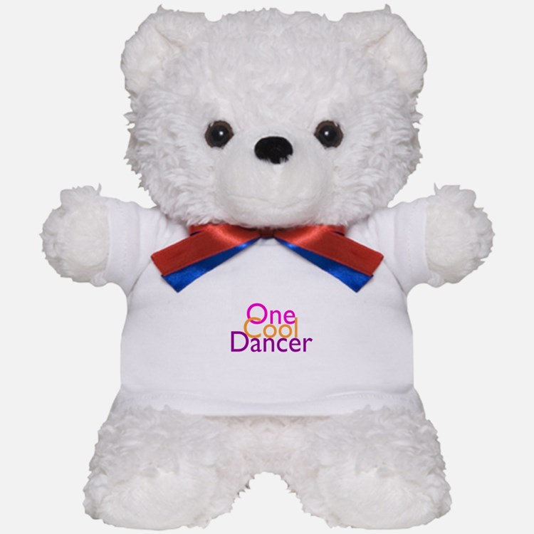 One Cool Dancer Teddy Bear