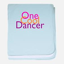One Cool Dancer baby blanket