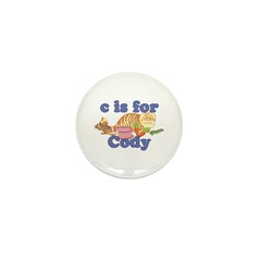 C is for Cody Mini Button (100 pack)