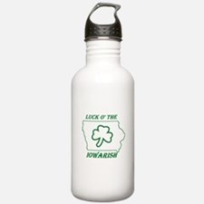 Luck O the Iowarish Water Bottle