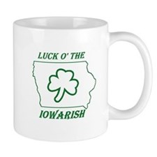 Luck O the Iowarish Mug