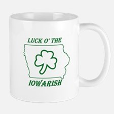 Luck O the Iowarish Small Small Mug