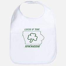 Luck O the Iowarish Bib