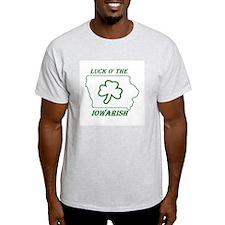 Luck O the Iowarish T-Shirt