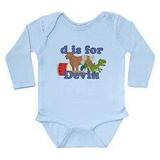 D is for Devin Onesie Romper Suit
