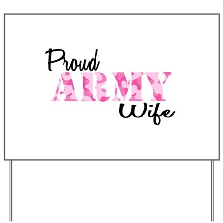 Army Pink Home/Office Yard Sign