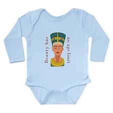Nefertiti Beauty Long Sleeve Infant Bodysuit