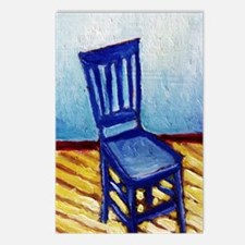 BLUE CHAIR Postcards (Package of 8)
