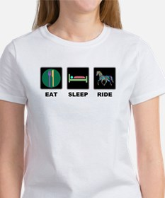 Eat Sleep Ride Horse Women's T-Shirt