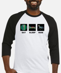 Eat Sleep Ride Horse Baseball Jersey