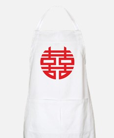 Chinese Double Happiness Apron