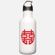 Chinese Double Happiness Water Bottle