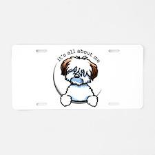 Tricolor Coton IAAM Aluminum License Plate