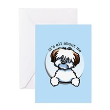 Tricolor Coton IAAM Greeting Card