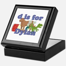 D is for Dylan Keepsake Box