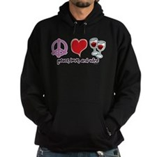 Peace, Love, and Wine Hoodie