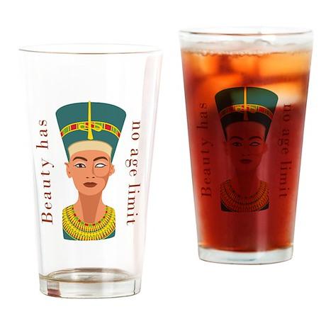 Nefertiti Beauty Drinking Glass