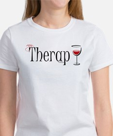 My (Wine) Therapy Women's T-Shirt