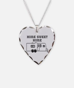 Home Sweet Home Travel Trailer Necklace