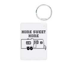 Home Sweet Home Travel Trailer Keychains