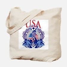 USA Women's Soccer Tote Bag