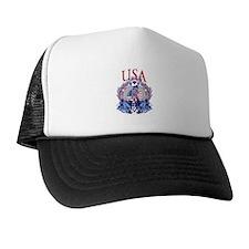 USA Women's Soccer Trucker Hat