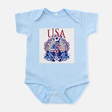USA Women's Soccer Infant Bodysuit