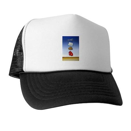 SURREALISM PAINTING Trucker Hat