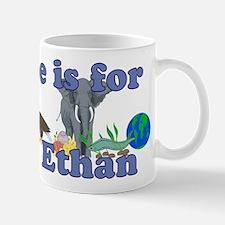 E is for Ethan Small Small Mug