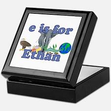 E is for Ethan Keepsake Box