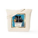Peeping Tomcat Tote Bag
