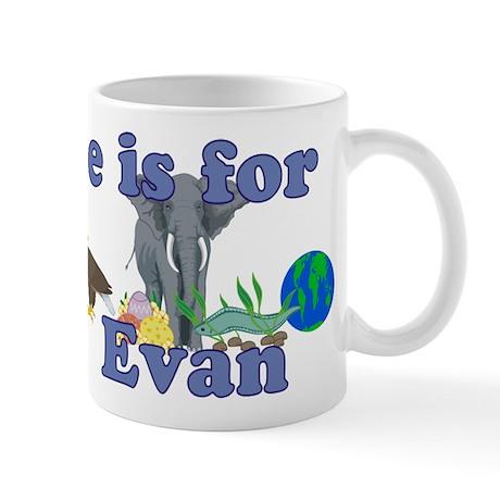 E is for Evan Mug