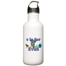 E is for Evan Water Bottle