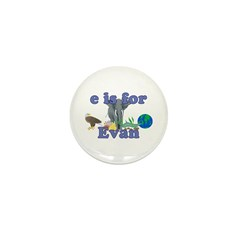E is for Evan Mini Button (100 pack)