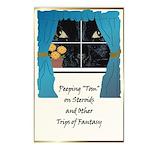 Peeping Tomcat Postcards (Package of 8)