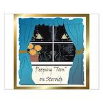 Peeping Tomcat Small Poster