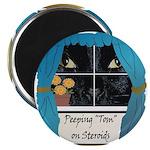Peeping Tomcat Magnet