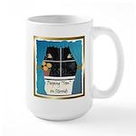 Peeping Tomcat Large Mug