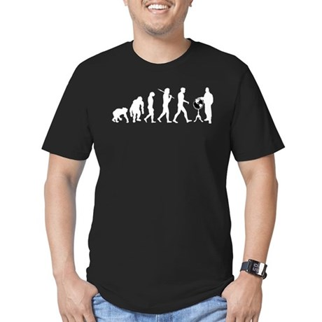 Geography Teacher Men's Fitted T-Shirt (dark)