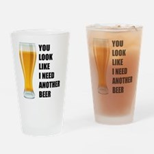 Another beer Drinking Glass
