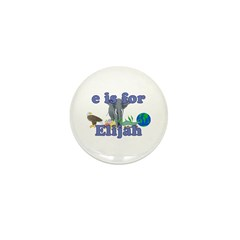 E is for Elijah Mini Button (10 pack)