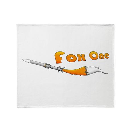Fox One Throw Blanket