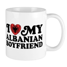 I Love My Albanian Boyfriend Mug