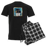 Peeping Tomcat Men's Dark Pajamas