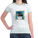 Peeping Tomcat Jr. Ringer T-Shirt