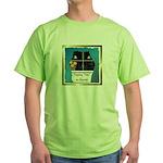 Peeping Tomcat Green T-Shirt